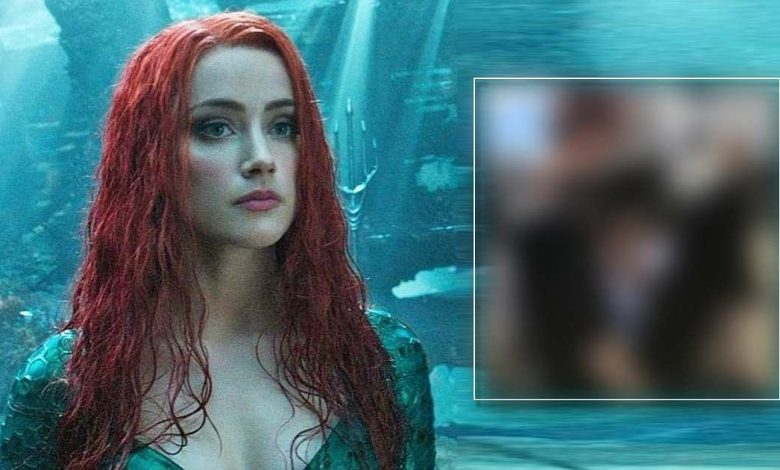 Amber Heard Shares A Cryptic Post From The Sets Of Aquaman 2