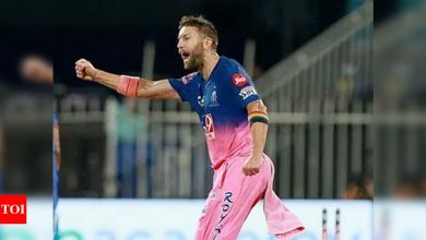 Australian pacer Andrew Tye leaves Rajasthan Royals camp because of 'personal reasons' | Cricket News - Times of India