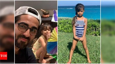 Ayushmann Khurrana has the sweetest birthday wish for daughter Varushka as she turns a year older today - Times of India