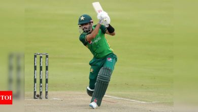 Babar Azam:  South Africa vs Pakistan, 1st ODI: Wanted to play to my strengths, says Babar Azam | Cricket News - Times of India