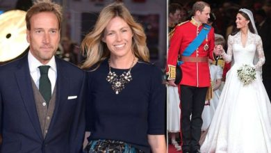 Ben Fogle feared wife Marina would go into labour at Prince William and Kate's wedding