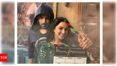 'Bhool Bhulaiyaa 2': Amid reports of another lockdown, the shoot of Kartik Aaryan and Kiara Advani starrer put on hold - Times of India
