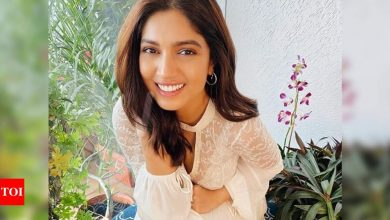 Bhumi Pednekar thanks fans for 'love' after testing positive for COVID-19, says 'am so overwhelmed' - Times of India