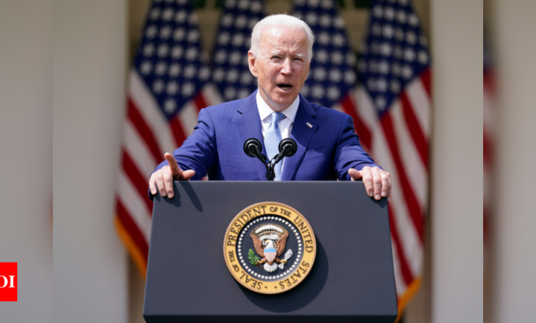Biden administration pressed by lawmaker to label white supremacists overseas as terrorists - Times of India