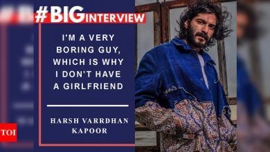 #BigInterview! Harsh Varrdhan Kapoor: I'm a very boring guy, which is why I don't have a girlfriend - Times of India ►