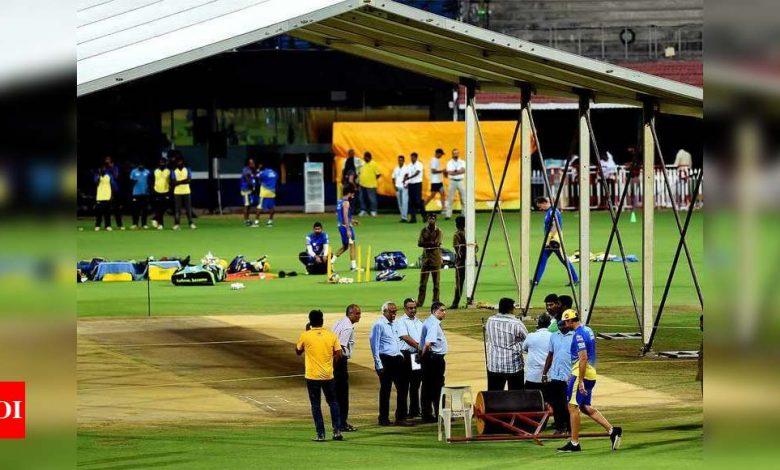 Black soil pitches to be used for IPL games in Chennai | Cricket News - Times of India