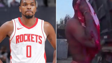 Bloody video emerges of Rockets' Sterling Brown after strip club attack