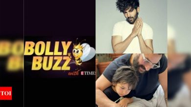 Bolly Buzz: Kartik Aaryan gets replaced in 'Dostana 2', Kareena Kapoor Khan almost reveals the picture of her newborn son - Times of India ►