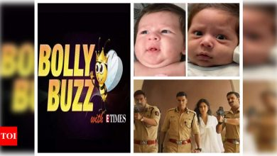Bolly Buzz! Picture of Kareena Kapoor and Saif Ali Khan's second baby leaks online, Akshay Kumar starrer 'Sooryavanshi' gets postponed, Kartik Aaryan buys a swanky new car - Times of India ►