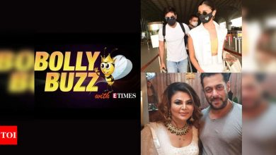 Bolly Buzz: Ranbir Kapoor & Alia Bhatt leave for a vacation, Salman Khan turns 'angel' for Rakhi Sawant - Times of India