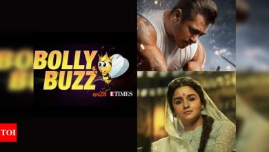 Bolly Buzz: Salman Khan announces 'Radhe' release date, Ranveer and Alia's vanity vans being lent out to Police on covid--duty - Times of India
