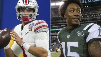 Brandon Marshall lobbies Jets to take Justin Fields in 2021 NFL Draft