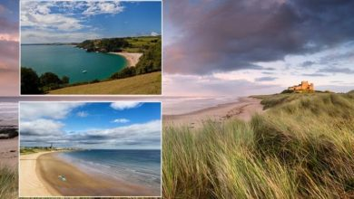 Britain's 'favourite' beach town named - Northumberland coast takes the crown