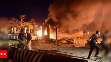 Car bombing at hotel in southwest Pakistan kills 4, wounds 11 - Times of India