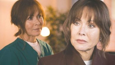 Casualty legend Amanda Mealing breaks down as she speaks out after final scenes air