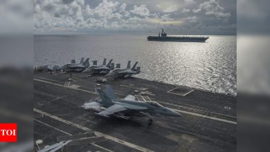 China US News: China says US to blame for tensions over Taiwan | World News - Times of India