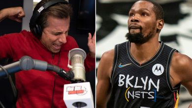 Chris Russo takes Michael Rapaport dig at Kevin Durant during epic rant