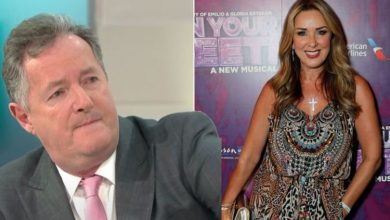 Claire Sweeney avoided social media after publicly defending Piers Morgan after GMB row