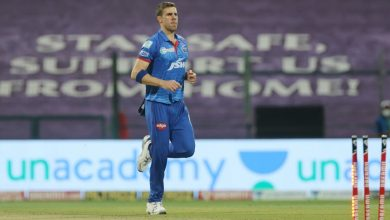 Delhi Capitals' Anrich Nortje available for selection after testing negative for Covid-19