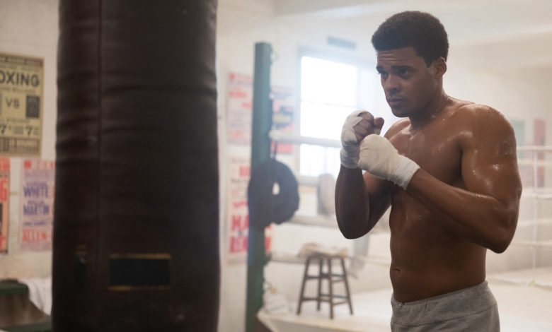 Deric Augustine channels Cassius Clay in 'Godfather of Harlem'