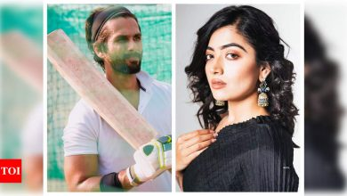 Did you know that Rashmika Mandanna was approached for the Hindi remake of 'Jersey' starring Shahid Kapoor? - Times of India