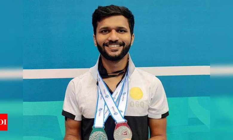 Disappointed to be dropped from TOPS: Para shuttler Sukant Kadam | Badminton News - Times of India