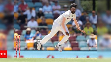 Dream is to be the highest wicket-taker for India: Siraj   Cricket News - Times of India