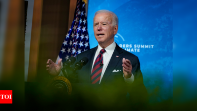 Dumping Donald Trump's policies, Joe Biden leads world again in fight against climate change - Times of India