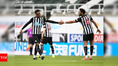 EPL: Newcastle deny Tottenham return to top four in 2-2 draw | Football News - Times of India