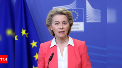 EU says will 'respond rapidly' to assist Covid-hit India - Times of India