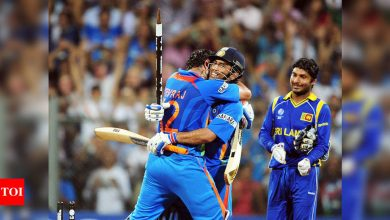 EXCLUSIVE: It was a massively brave call by MS Dhoni to bat ahead of Yuvraj Singh in 2011 World final, history tells us it was a great decision, says Paddy Upton | Cricket News - Times of India