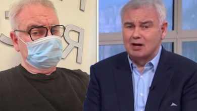 Eamonn Holmes addresses cause of chronic pain battle 'I mysteriously dislocated my pelvis'