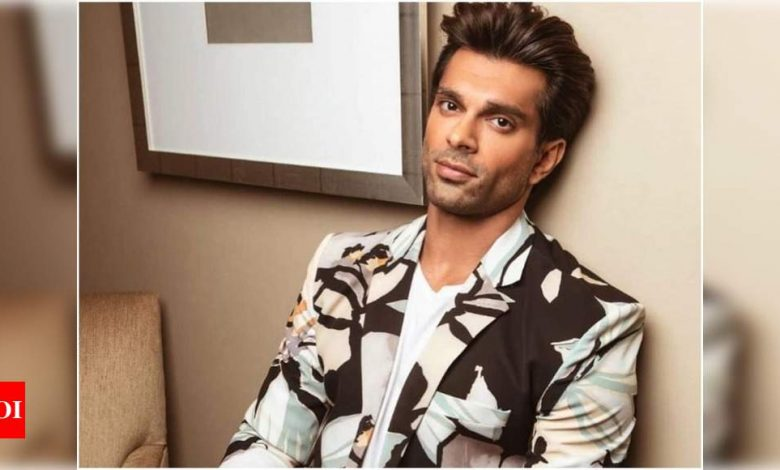 Exclusive: Karan Singh Grover opens up about his inspiration behind his paintings - Times of India