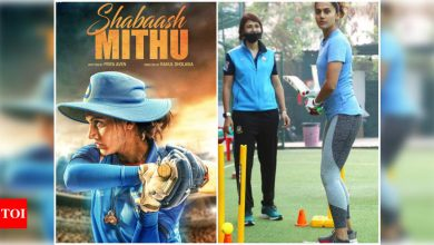 Exclusive! Taapsee Pannu's cricket film 'Shabaash Mithu' shoot shifted from Mumbai to Hyderabad? - Times of India