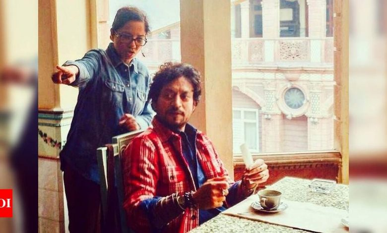 Exclusive! Tanuja Chandra on working with Irrfan Khan: There was a kind of quiet panic in his humor - Times of India