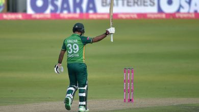 Fakhar Zaman:  'Don't regret not getting the double, regret losing the match'