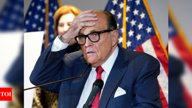 Feds execute warrant at Rudy Giuliani's NYC home - Times of India