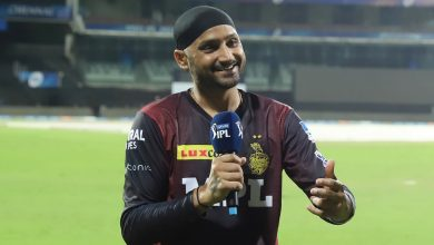 """Felt like I was playing my first game"" - Harbhajan on KKR debut"