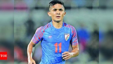 Fight against COVID-19: Sunil Chhetri hands over Twitter account to 'real-life captains' | Football News - Times of India