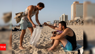 For Israeli cigarette butt collector, every day is Earth Day - Times of India