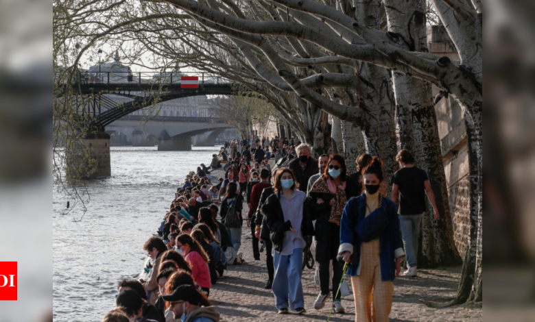 France expects to lift domestic travel restrictions on May 3 - Times of India