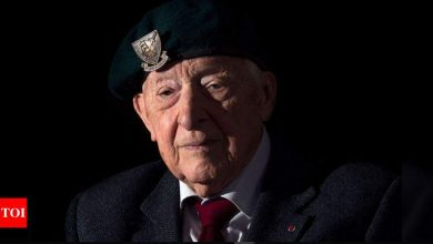 French WWII Normandy landings hero dies aged 106 - Times of India