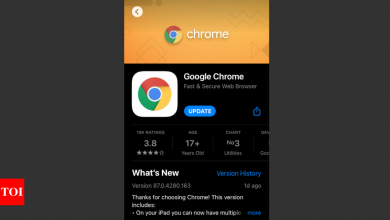 Google updates Chrome iPhone app; finally reveals what data it collects from you - Times of India