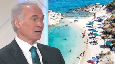 Greece to welcome Britons on holidays 'next week' but Dr Hilary gives crucial warning