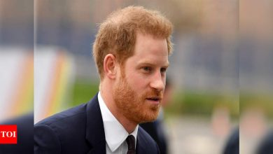 Harry expected to fly in for funeral of grandfather Prince Philip - Times of India