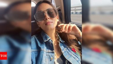 Here's what Mira Rajput is busy doing while hubby Shahid Kapoor watches cricket - Times of India