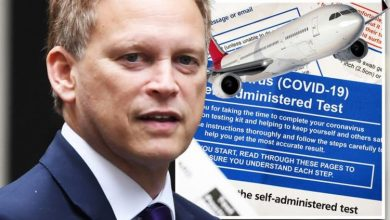 Holidays: Grant Shapps slammed for 'expensive' travel tests as Brits priced out of breaks