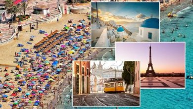 Holidays: Spain, Portugal, France, Italy & Greece latest FCDO amid red list changes