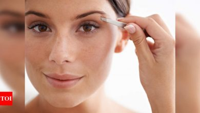 How to shape your eyebrows at home - Times of India