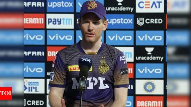 IPL 2021: Cummins put us in a position where we had a genuine chance of winning, says Morgan   Cricket News - Times of India